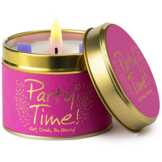 'Party Time' scented candle
