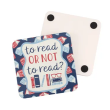 Load image into Gallery viewer, Book lovers coaster - Hunnypot House