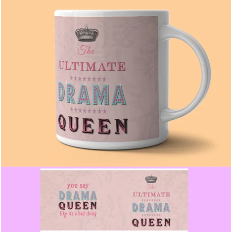 'Ultimate Drama Queen' mug