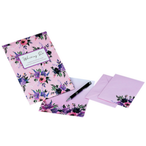 Writing set - roses - Hunnypot House