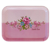 Load image into Gallery viewer, Melamine tray - pink floral - PRE-ORDER item - March - Hunnypot House