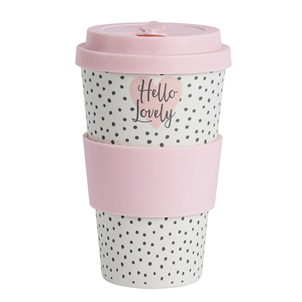 'Hello Lovely' travel mug