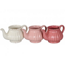 Load image into Gallery viewer, Ceramic teapot planter