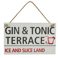 Street sign - Gin & Tonic Terrace