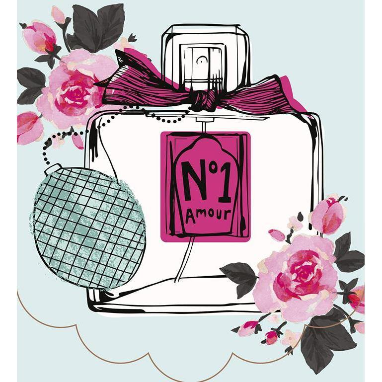 Perfume bottle design handbag