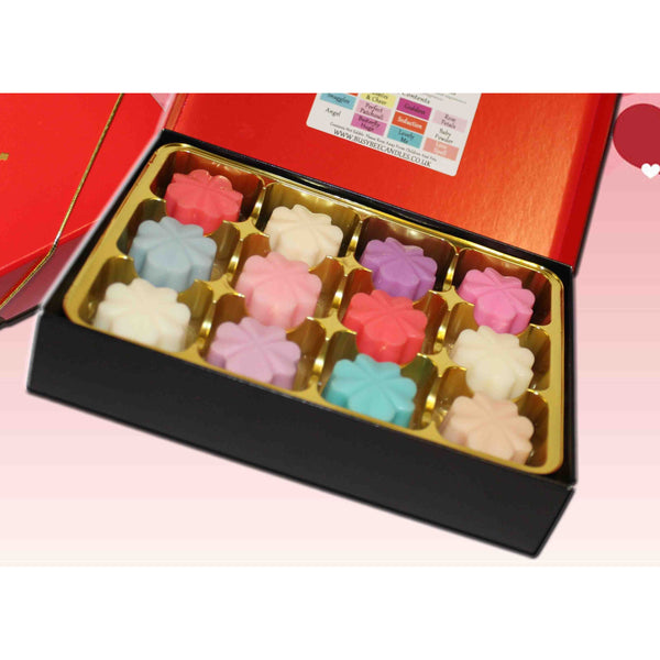 Wax melts selection box - Romance