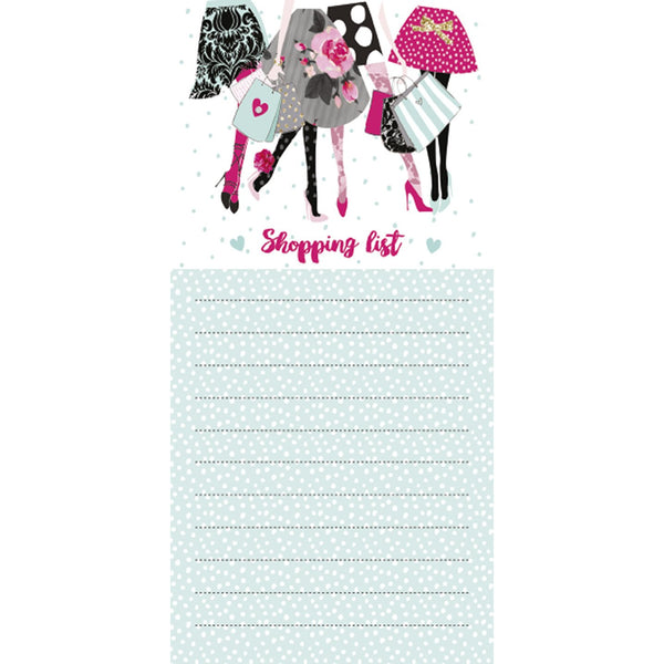 Magnetic list pad - shopping