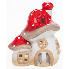 Load image into Gallery viewer, Toadstool tealight holder - small