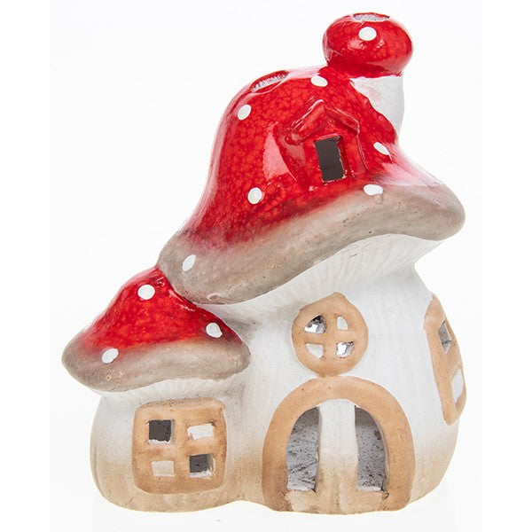 Toadstool tealight holder - small