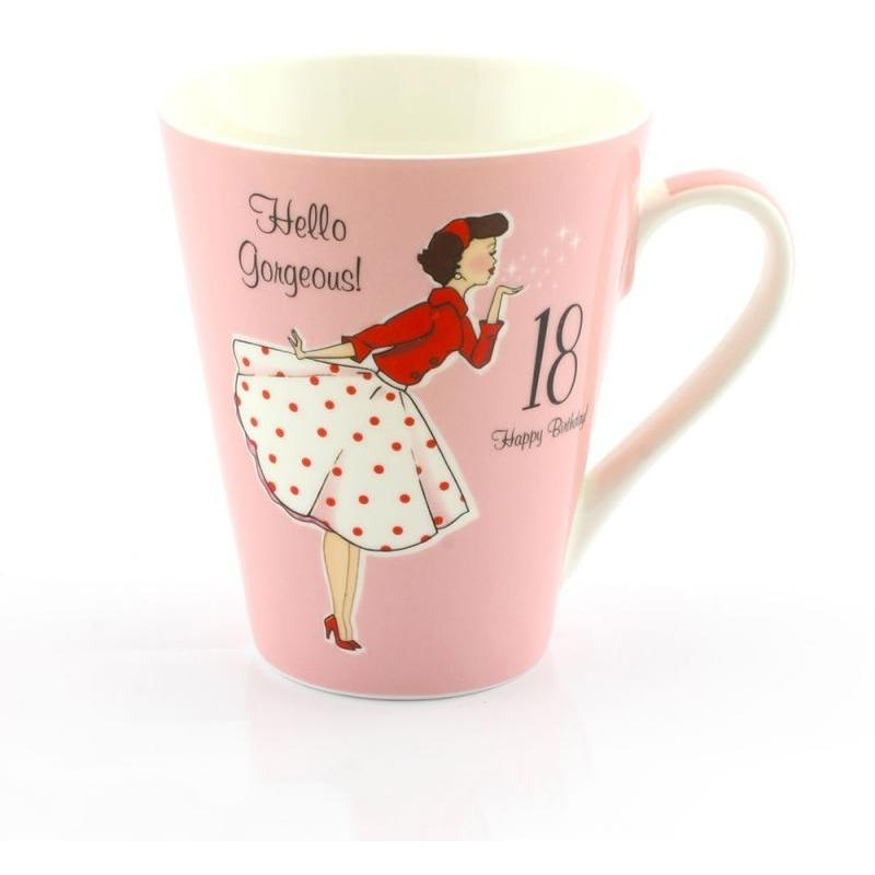 Vintage lady mug - 18th Birthday - PDP Vintage and Fashion