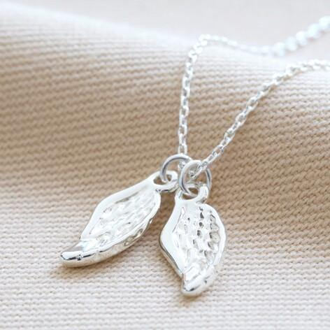 Double wing charm necklace - Hunnypot House