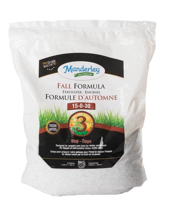 Fall Formula Fertilizer 15-0-30 - Park Topsoil