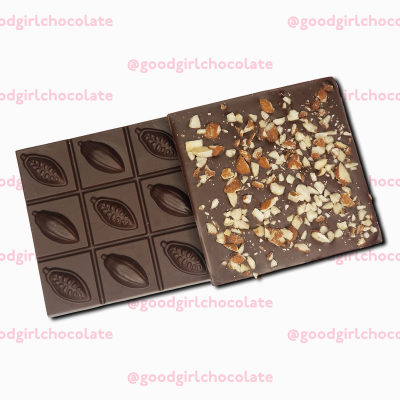 4 pack 70% Dark Chocolate with Almonds