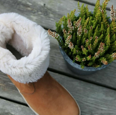 Paljakka fur lined boot with Nordic GRIP+