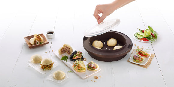 Pork or Beef Steamed Buns or Baos