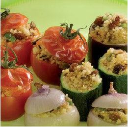 Vegetables With Couscous Stuffing