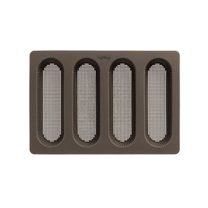Lékué Perforated Mini Baguette Bread Pan Perforated Mini Baguette Bread Pan