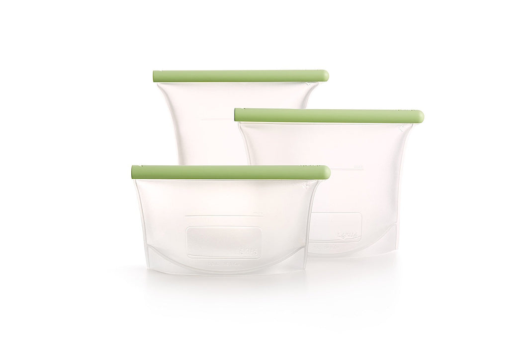 Reusable Silicone Bag - 3 Piece Set