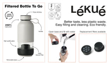 Lékué USA Filtered Bottle To Go Filtered Bottle To Go