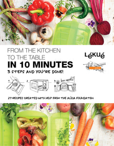 Lékué 10 Minute Cookbook 10 Minute Cookbook