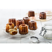 Lékué Cannele Bordelais Mold, 8 Cavity Cannele Bordelais Mold, 8 Cavity