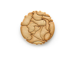 Lékué Animal Cookie Puzzle Animal Cookie Puzzle