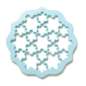 Lékué Snowflake Cookie Cutter Snowflake Cookie Cutter