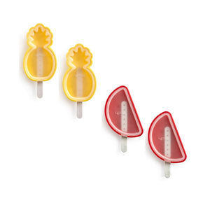 Tropical Fruit Popsicle Molds