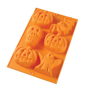 Halloween Mold, 6 Cavity