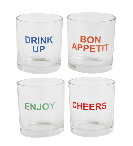 Urban Homestead Saying Drinking Glasses
