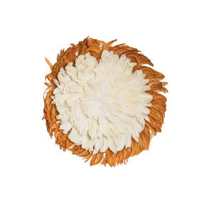 Feather Wall Decor White