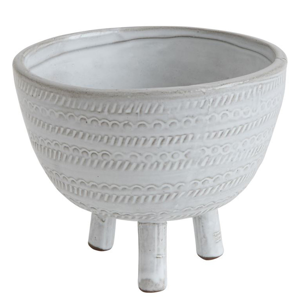 Footed Pot