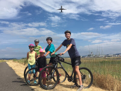 Biking in Oregon with Kids