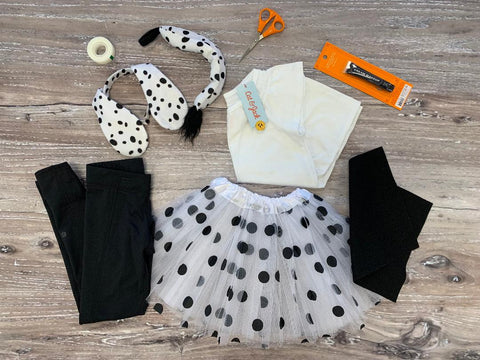 supplies to make your own dalmatian costume