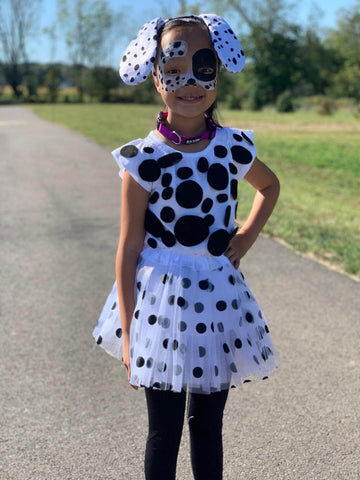 dalmatian tutu costume by Sydney So Sweet
