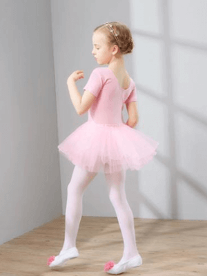 Girl in girls pink ballet tutu by Sydney So Sweet
