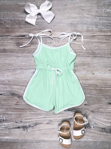 Mint retro romper