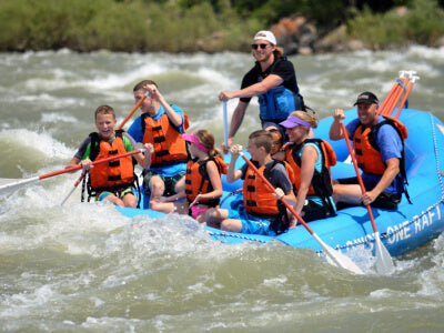 White Water Rafting with Kids & Family