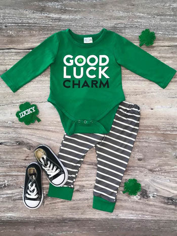 Good Luck Charm onesie for babies
