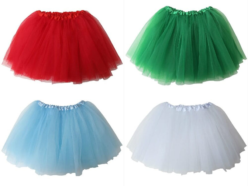 Merry Merry Christmas - Kids Ballet Tutu Value Multi 4-Pack - buy online, free shipping, Sydney So Sweet