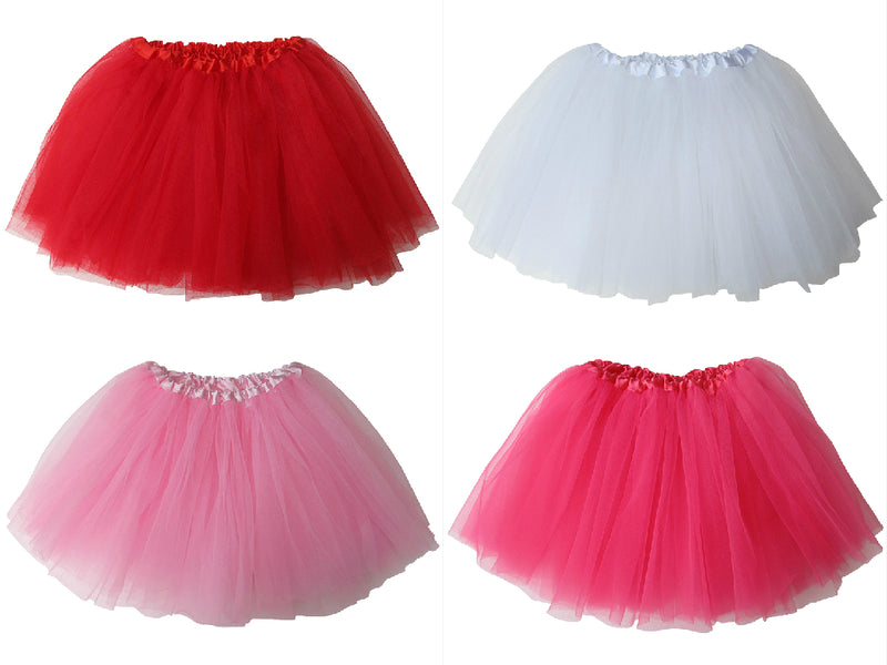 Be My Valentine - Kids Ballet Tutu Value Multi 4-Pack - Sydney So Sweet