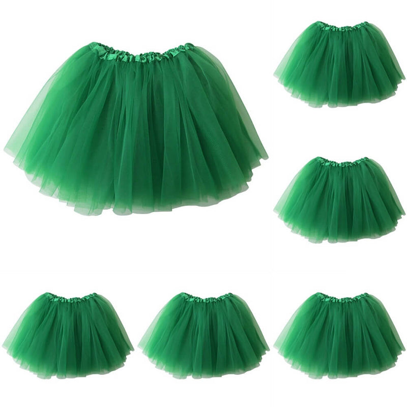 Green - Kids Ballet Tutu Value 5-Pack - buy online, free shipping, Sydney So Sweet