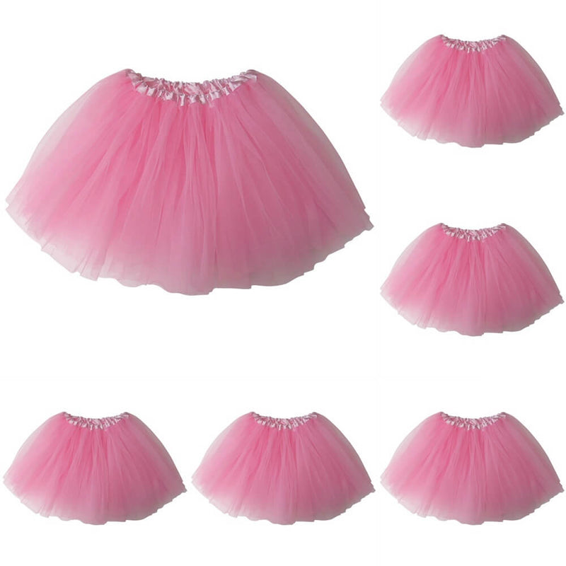 Pink - Kids Ballet Tutu Value 5-Pack