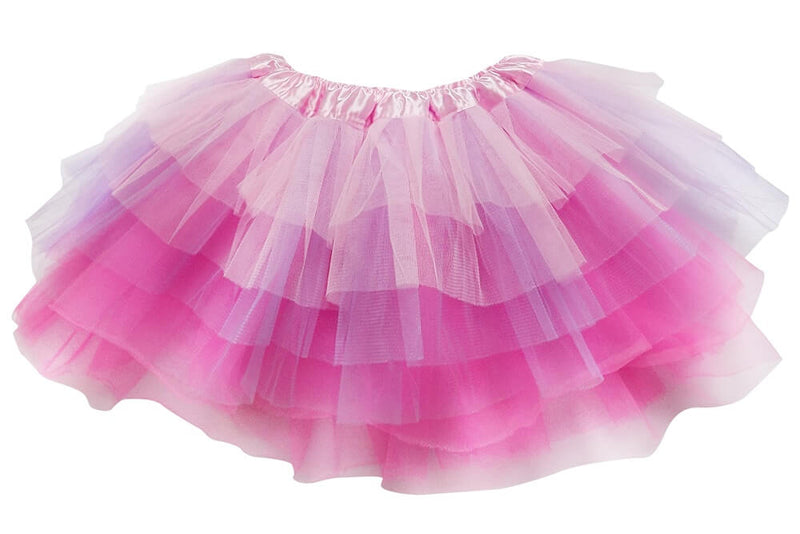 c883b365fe Pink, Lavender, Neon Pink- 6 Layer Tutu Skirt for Girls, Women, Plus