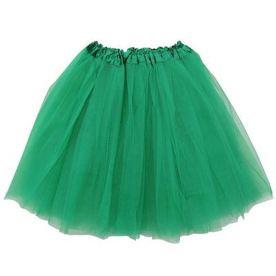 Green Adult Tutu Skirt - Women's Size 3- Layer Basic Ballet Tutu - Sydney So Sweet