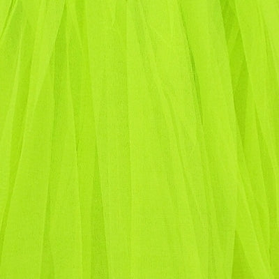 Neon Green Adult Tutu Skirt - Women's Size 3- Layer Basic Ballet Tutu