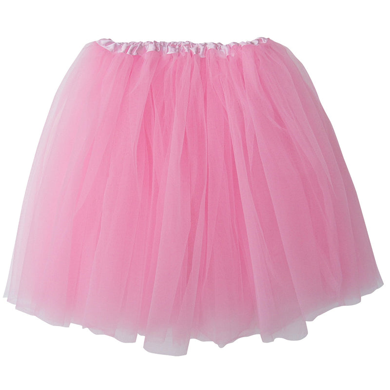 Pink- Adult Size 3-Layer Basic Ballet Tutu - buy online, free shipping, Sydney So Sweet