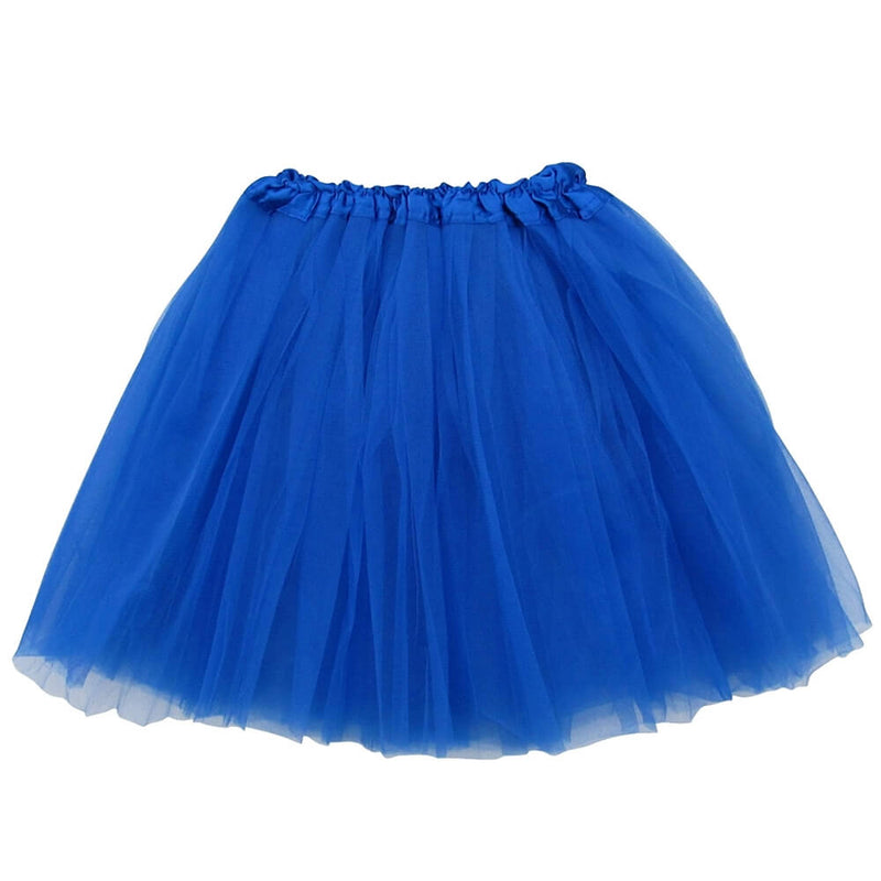 Royal Blue Adult Tutu Skirt - Women's Size 3- Basic Ballet Tutu