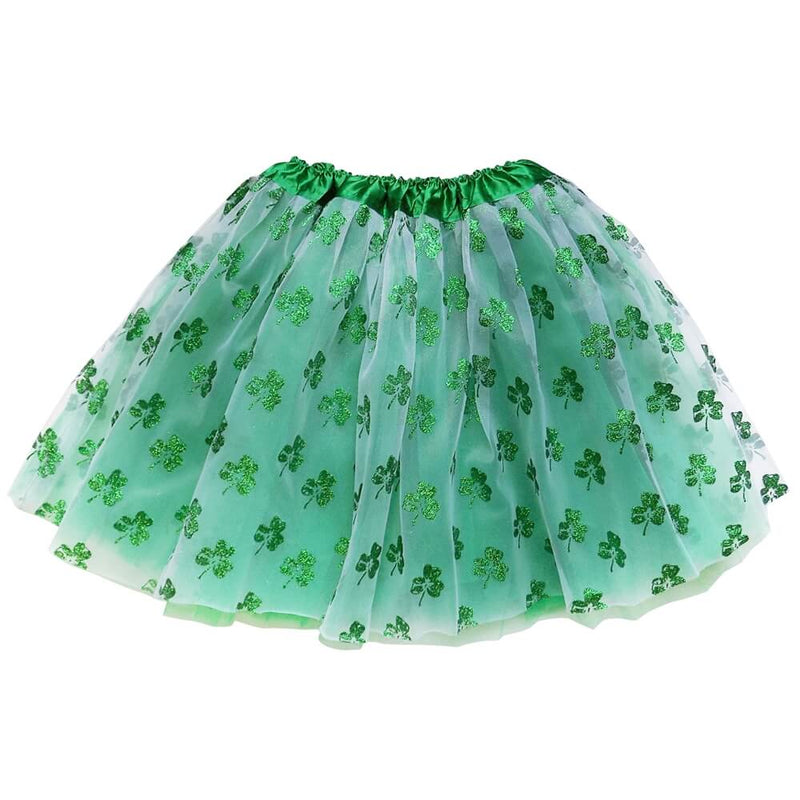 Shamrock Tutu Sparkle for Girls, Women, Plus