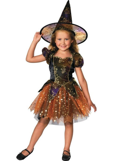 Sparkle Glam Deluxe Girls or Toddler Witch Costume - buy online, free shipping, Sydney So Sweet